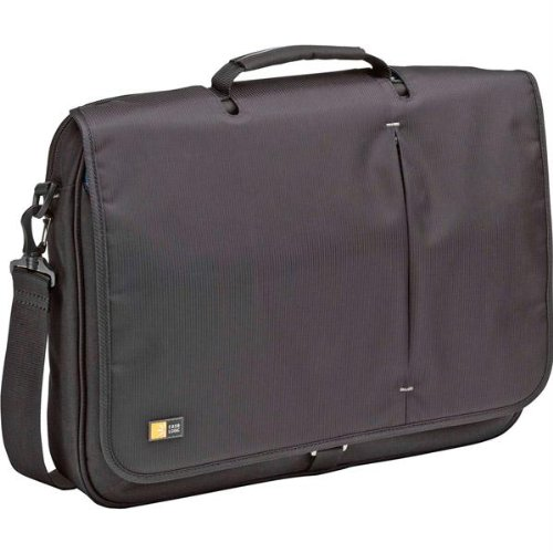 "Case Logic 17"" Black Notebook Messenger Bag"