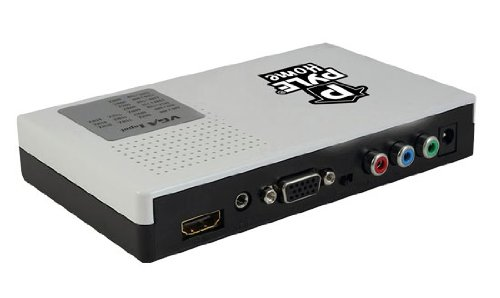 Pyle PVGCHD72 VGA and Component Video to HDMI Converter with Audio Support
