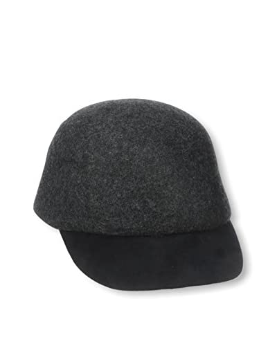 Giovannio Women's Cap Hat, Dark Charcoal Mix