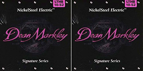 Dean Markley Electric Guitar Strings - 2504, Lthb 10-52 - Two Sets