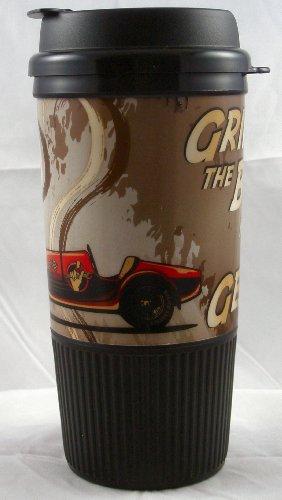 Busted Knuckle Garage 08-Bkg-Wtm-Rc Insulated Race Car Travel Mug