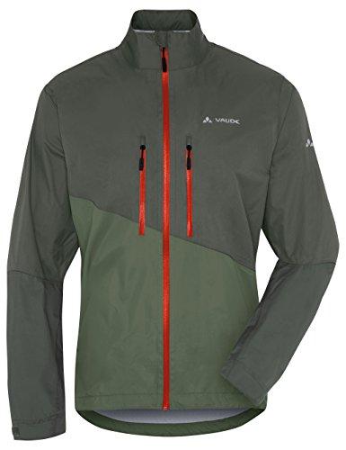 VAUDE Herren Jacke Tremal Zip Off Rain Jacket, Olive, M, 05489 -