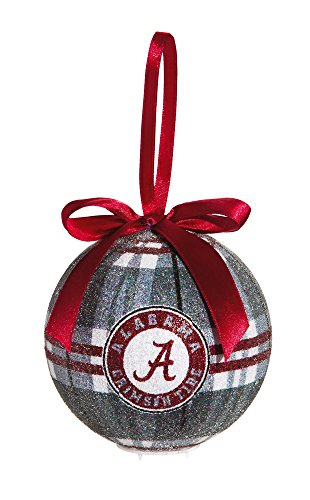 100Mm Led Ball Ornament, University Of Alabama