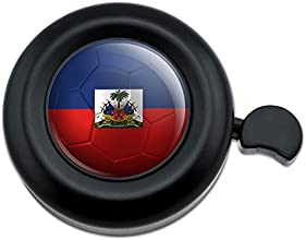 Haiti Flag Soccer Ball Futbol Football Bicycle Handlebar Bike Bell