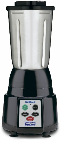 Waring Commercial Bb185S Nublend Commercial Blender With 32-Ounce Stainless Steel Container