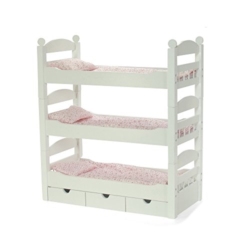 18-inch-doll-white-triple-detachable-trundle-bunk-bed-furniture-made-to-fit-american-girl-or-other-1