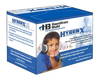 Hygenx Sanitary Headphone Covers For On Ear Headsets (50 Pair)
