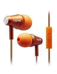 Cygnett Fusion II Earphone with Mic (Orange)