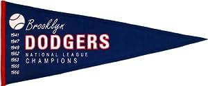 Brooklyn Dodgers Cooperstown Pennant by Winning Streak