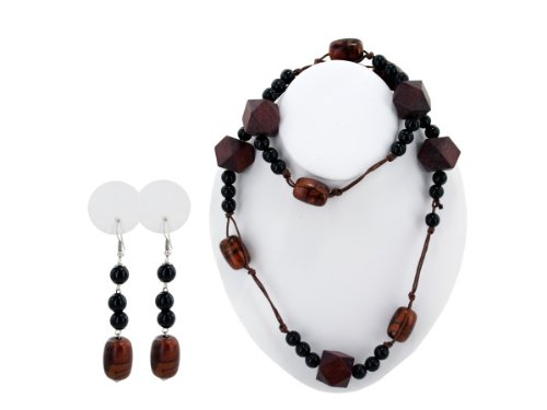 Wholesale Set Of 20, Beaded Necklace/Earrings (Jewelry, Necklaces), $4.51/Set Delivered