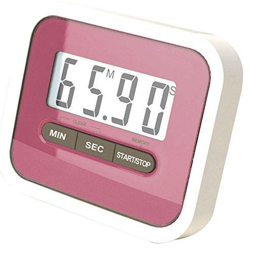 Digitale LCD KingWinX Eieruhr magnetisch Küchen 1-pink