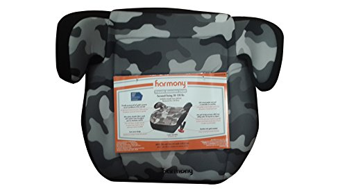 Harmony - Juvenile Youth Booster Car Seat, Grey Camouflage front-494862