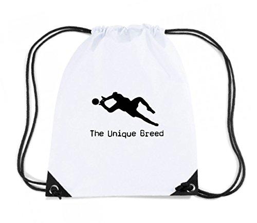 t-shirtshock-mochila-budget-gymsac-oldeng00283-unique-breed-keeper-talla-capacidad-11-litros