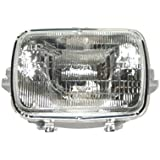 Set of 2 Headlights Driving Head Lights Headlamps Left & Right Side Pair Gm2500112