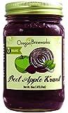 Beet Apple Sauerkraut, Raw, Fermented, Probiotic, Organic, 16 Oz