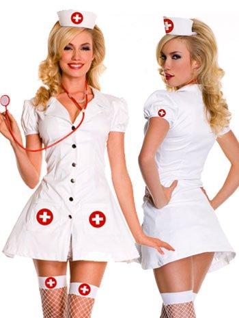 Rn On Duty Sexy Nurse Costume - Medium/Large