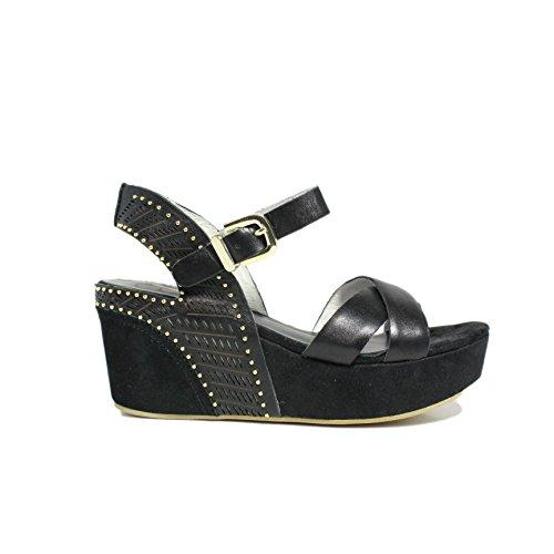 Chaussures Wedge Sandal femme moyenne vérifiés Femme 13-1 N Collection Été 2015 New Summer 2015