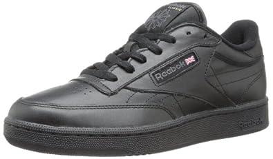 Reebok Men's Club C Sneaker,Black/Charcoal,6.5 M