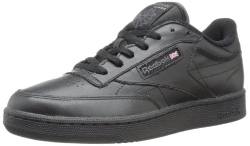 Reebok Men's Club C Sneaker,Black/Charcoal,10 M
