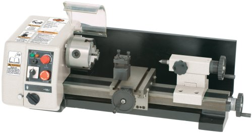 SHOP FOX M1015 6-Inch by 10-Inch Micro Lathe