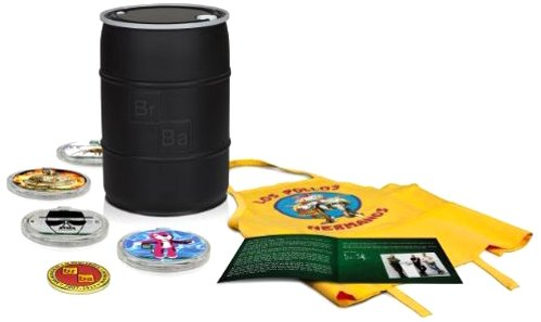 Breaking Bad - Die komplette Serie (Deluxe Gift Set - limitiert und exklusiv bei Amazon.de) [Blu-ray] [Limited Edition]