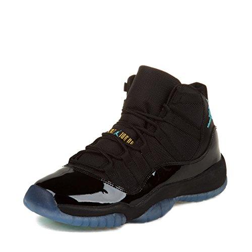 Nike Air Jordan Reto 11 (Gs) Black/Gamma Blue-Varsity Maize 378038-006 7 (Nike Air Jordan Retro 11 compare prices)