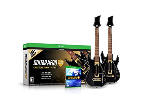 Guitar Hero Live Supreme Party Edition 2 Pack Bundle (Xbox One Consoles 2k Bundle compare prices)