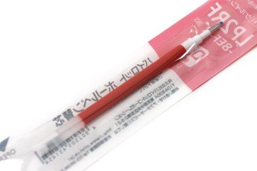 LP2RF Pilot Recharge pour stylo à encre Gel-Pointe 0,5 mm-Rouge-Boîte de 10