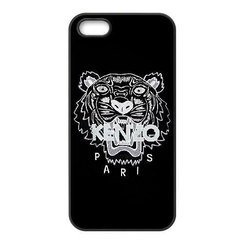 iPhone 5 5s Case,Generic Cell Phone Case for iPhone 5 5s [Black] Kenzo [Custom] KH2019