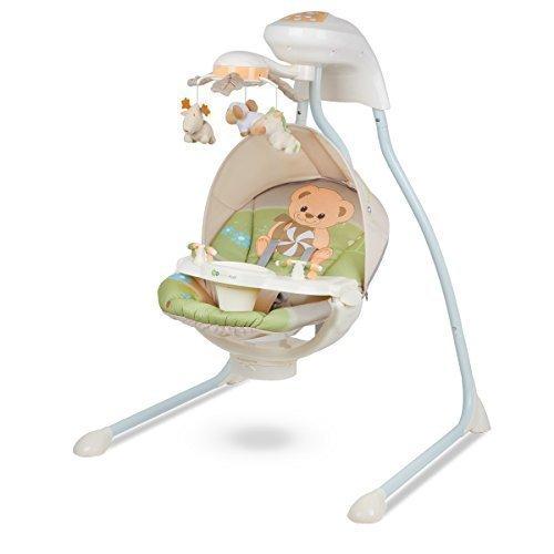 KinderKraft Modelo Teddy Bear Hamaca bebé electrica oso