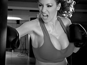 Amazon.com: SD7857 Jordan Carver Busty Babe Boxing Big Boobs BW 24x18
