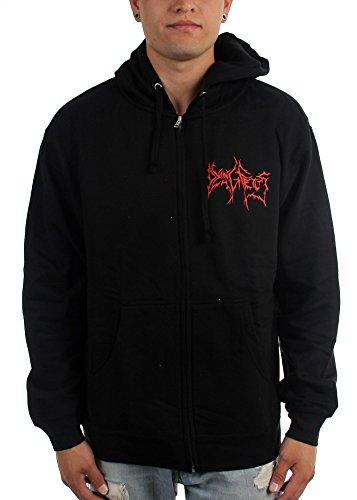 Dying Fetus-Monster da uomo a Zip intera con cappuccio nero X-Large
