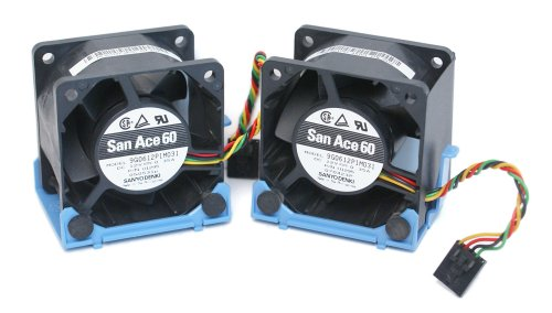 2-LOT Dell U8679 Computer Case Cooling Fan and Bracket Assembly, For Optiplex GX620, 745, 755, and SX280 Ultra Small Form Factor (USFF) Systems, 12V~.35A, 60mm x 60mm x 38mm, 4-Pin Connector, Compatible Part Numbers: U8679 U1295 JT782 KR024 3NH6D WW138 9G0612P1M031 PMD1206PMB3-A PSD1206PMV3-A (60mm System Fan compare prices)