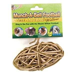 Click to read our review of Ware Manufacturing Munch-A-Bell Football