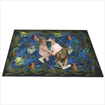"Kid Essentials Under the Sea Kids Rug Size: 3' 10"" x 5' 4"""