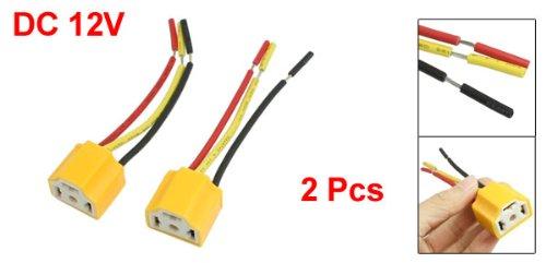 Connettori per fanali auto lampadine attacco H4 pezzi 2