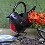 Bronze Red Robin Watering Can - Garde...