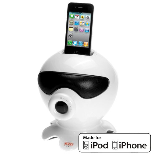 Ezopower 30Pin Octopus Stereo Speaker Charging Dock With Subwoofer For Apple® Ipod® Touch Nano Video, Iphone® 4 4S 3G 3Gs