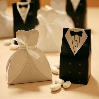 Wedding Dress Favor Boxes 2 Inspirational Bride and Groom Dress