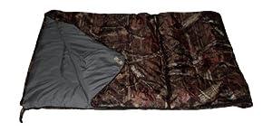 Mossy Oak Sleeping Bag Camo Camping Slumber Bag 30F Teen Adult 75x29 by Mossy Oak