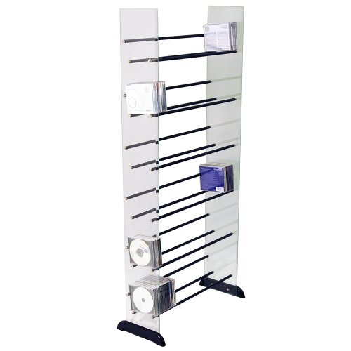 AVANTE - Glass CD / DVD Blu-ray / Media Storage Shelves
