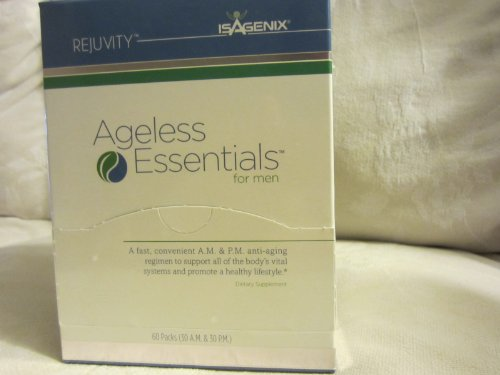 Isagenix Ageless Essential Daily Pack For Men