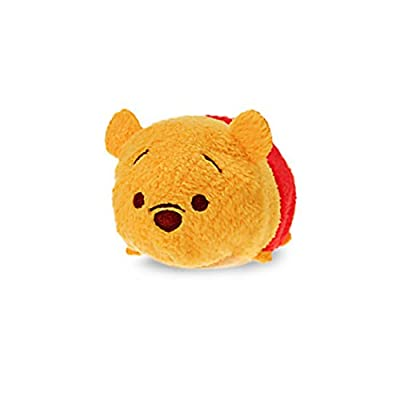 Tsum Tsum Plush Smartphone Cleaner Winnie the Pooh Mine Japan Import
