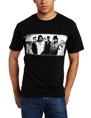 FEA Merchandising Men's U2 Joshua Tree Slim Fit T-Shirt - Medium