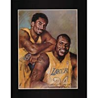 Kobe Bryant Shaquille O'Neal Lakers Basketball Poster