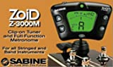Sabine Chromatic Clip on Guitar & Band Tuner Zoid Z3000 with Metronome