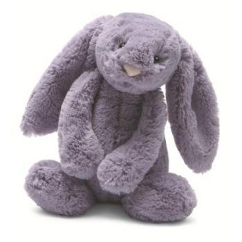 41XgWu3DQHL Jellycat Medium Plum Bashful Bunny 12