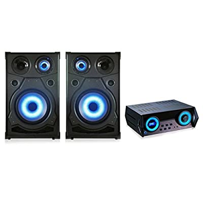 QFX High end Speakers With Amplifier with DVD, CD, USB, FM, HDMI Consumer Electronics