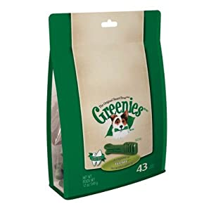 Greenies 10055806 Treat-Pak for Dogs, 12-Ounce, Teenie