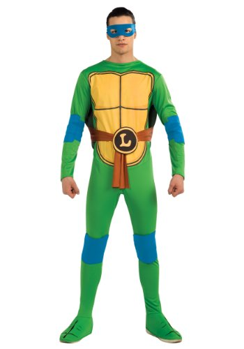 Rubies Mens Teenage Mutant Ninja Turtles Leonardo Fancy Dress Costume